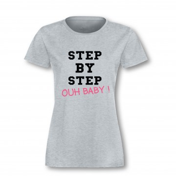 """T-Shirt """"step by step"""""""
