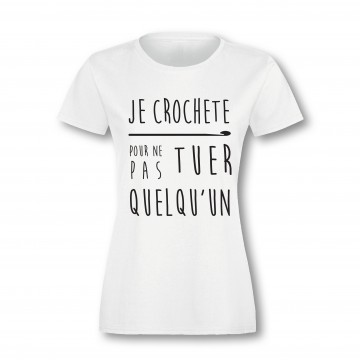 "T-Shirt ""crochet killer"""